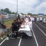 NFL Players Signing Autographs at ProPlayer Football Camp in NJ