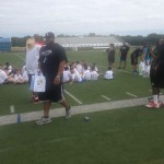 Youth Football Camp in NJ Sponsored by Coastal Modular Group