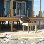 Beach Haven West, NJ Modular Home Deck Stairs