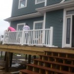 Beach Haven West, NJ Modular Home Exterior Railing