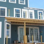 Beach Haven West, NJ Modular Home Porch Roof
