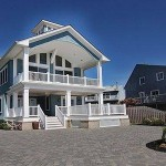 Porch of Modular Home in Sea Bright NJ