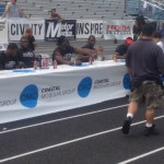 Professional NFL Players Signing Autographs at NJ Football Camp