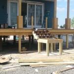 Beach Haven West, NJ Modular Home Deck Stairs