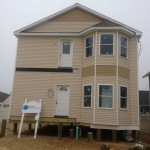 Exterior Complete for Modular Home in Lavallette NJ