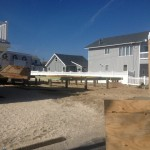 Raised Pillars for Modular Home in Lavallette NJ