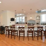 Kitchen Bar of Modular Home in Sea Bright NJ