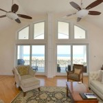 Living Room Windows of Modular Home in Sea Bright NJ