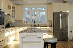 Kitchen In Lake Como Modular Home In NJ