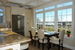 Kitchen Table In Lake Como Modular Home In NJ