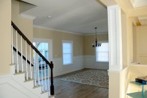 Open Living Room In Lake Como Modular Home In NJ