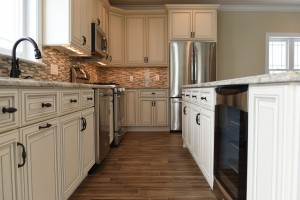Lavallette, NJ Modular Home Kitchen Cabinets