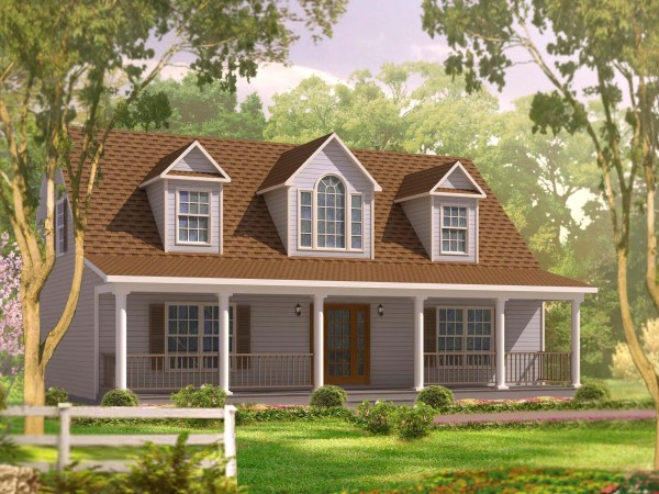 Cape cod modular homes your home and a half for Modular home plans nj
